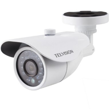 Câmera de Segurança Telvision Ir121 Ccd Sony 800 Linhas 25 Metros