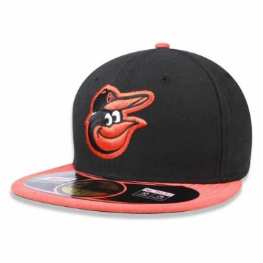 Boné Baltimore Orioles 5950 MLB AC Fechado - New Era 58.7cm = 7 3 / 8