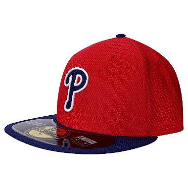 Boné Philadelphia Phillies 5950 Diamond Fechado - New Era 58.7cm = 7 3 / 8