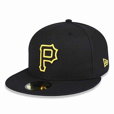 Boné Pittsburgh Pirates 5950 Diamond Fechado - New Era 58.7cm = 7 3 / 8