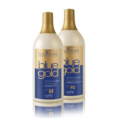 Kit Escova Progressiva Salvatore Blue Gold 2x 1Lt