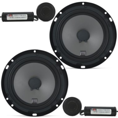 SEMI - NOVO - Kit 2 Vias NAR Audio 600 - CS - 1 ( 6 pols. / 100W RMS )