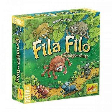 Fila Filo - Formigas na Teia - Em Português !