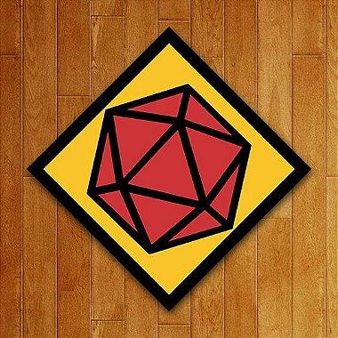 Placa Decorativa - D20