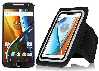 Braçadeira Neopreme Para Motorola Moto G4, G4 Plus e G4 Play