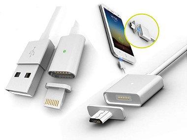 Cabo Lightning Magnético Para Iphone 5, 5se, 5C, 6, 6S, IPAD, IPAD Pro