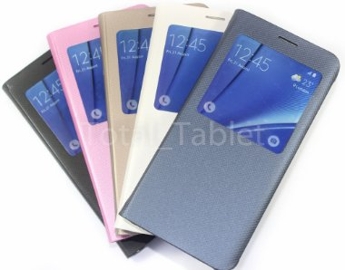 Smart Case Premium Para Samsung Galaxy S6 Edge+ Plus Light Orchid