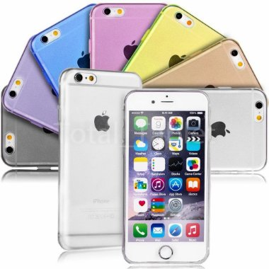 Capa Case Ultra Slim Super Fina 0,6mm Apple Iphone 6s