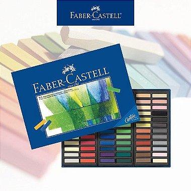 Giz Pastel Faber Soft Seco Mini 72 Cores Creative Studio 128272