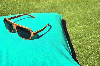 Óculos Leaf Abe - 100% Madeira