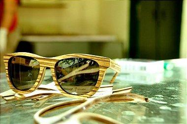 Óculos Leaf Drop - 100% Madeira