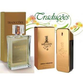Perfume Traduções Gold nº 19 Masculino Hinode