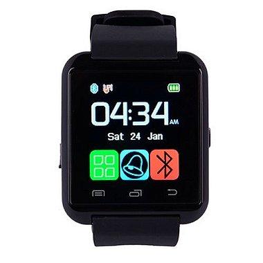 Relógio Masculino Bluetooth Smart U8 Preto
