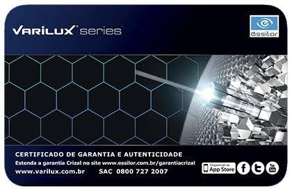 VARILUX X DESIGN   ORMA   CRIZAL EASY - Ótica Vila Sônia 4755be7716