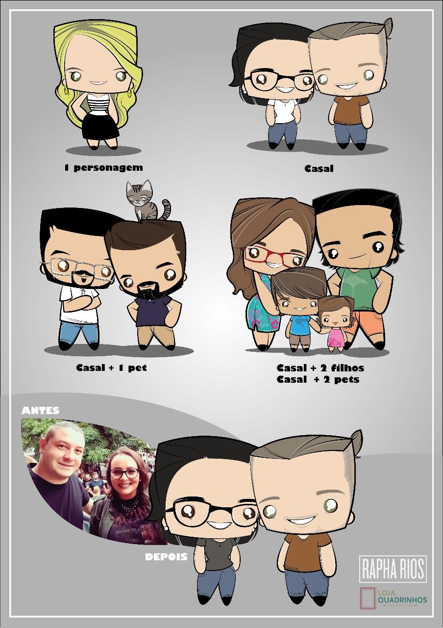Quadros personalizados - Loja Quadrinhos