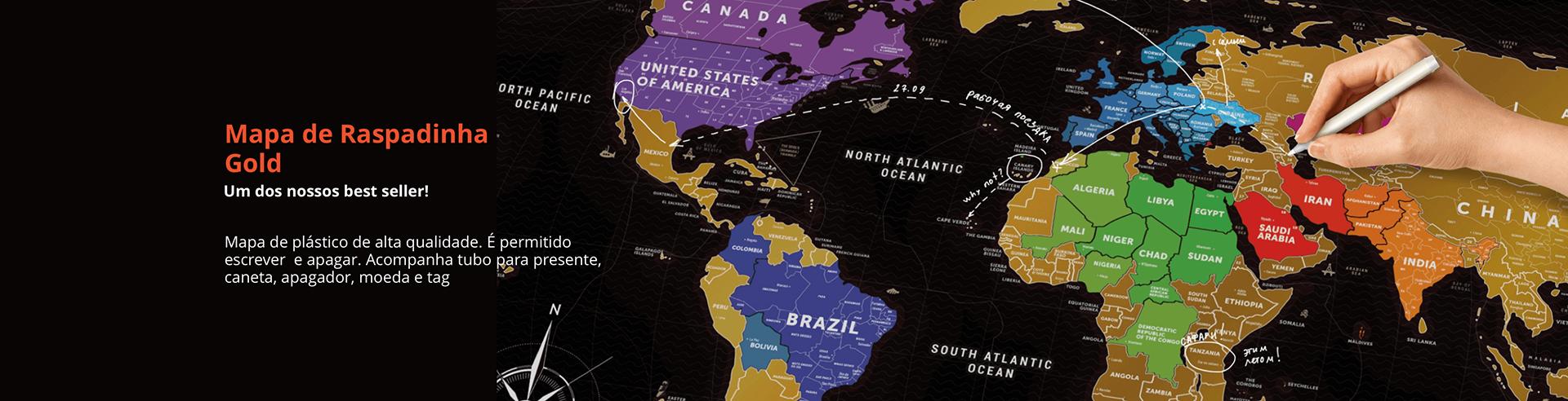 Mapa de Raspadinha Gold