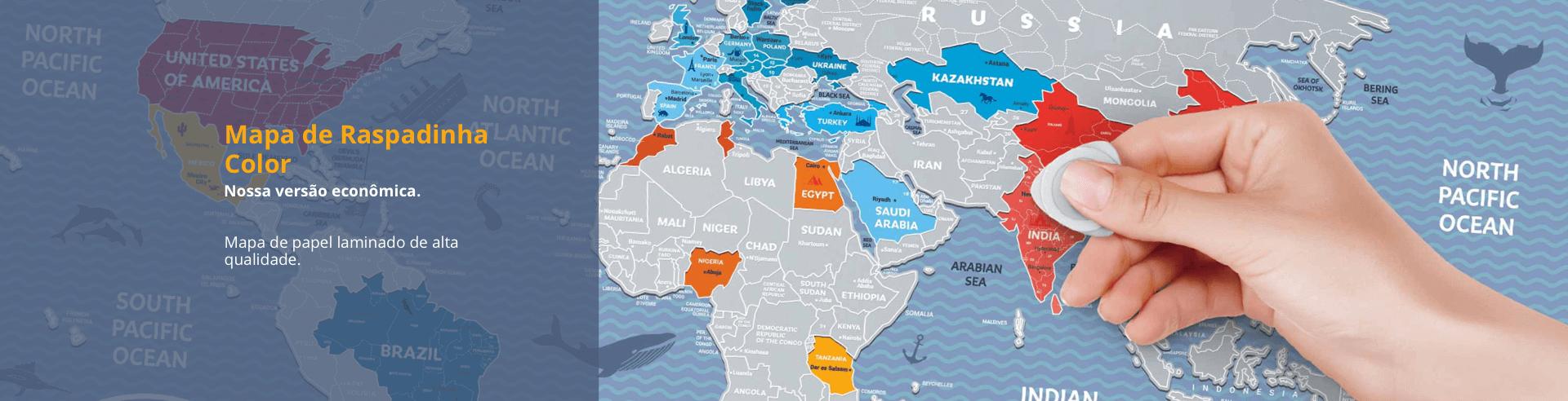 Mapa de Raspadinha Color