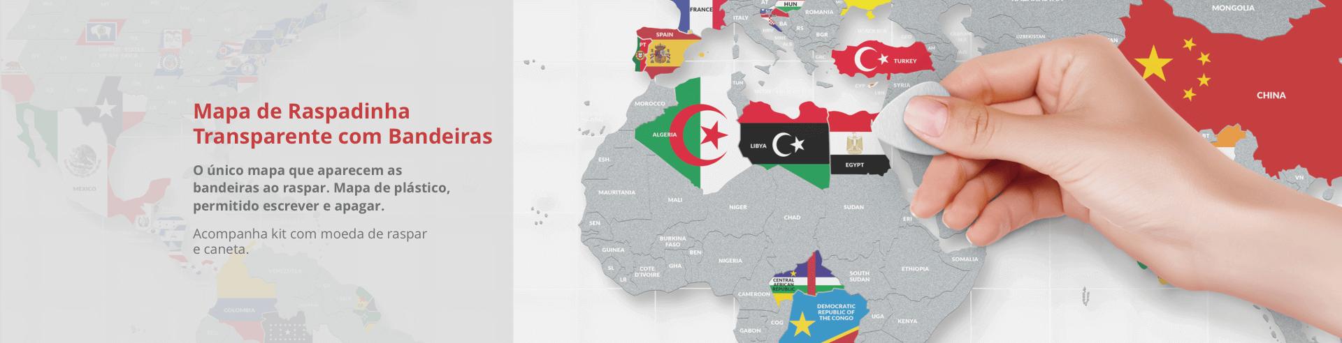 Mapa de Raspadinha Transparente