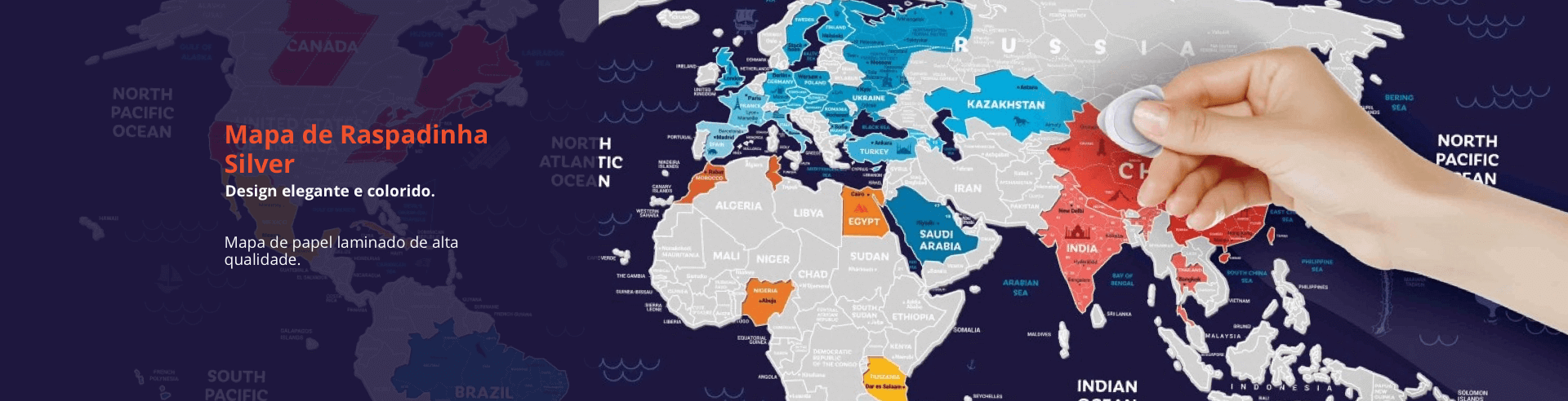 Mapa de Raspadinha Silver