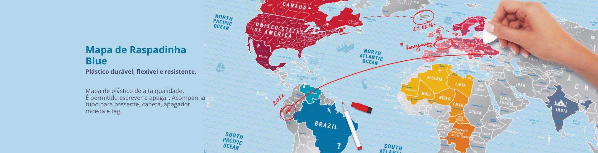 Mapa de Raspadinha Blue