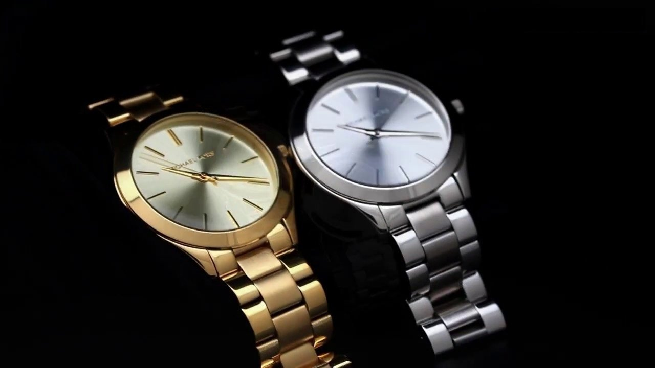 5d4251b348c14 Relógio Michael Kors Slim Runway MK3178 Prata - New Store - A melhor ...