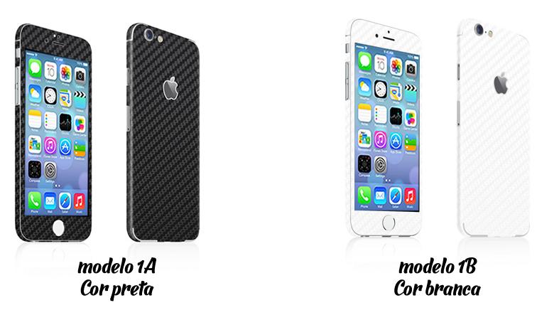 iphone preto e branco adesivos