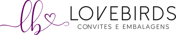LoveBirds Convites e Embalagens