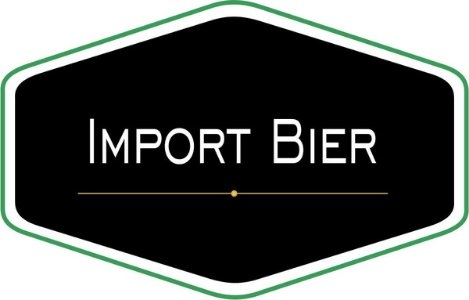 Import Bier