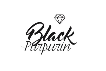 Black Purpurin Moda 3D