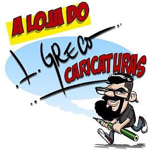 Caricaturas Lisandro Greco - Arte e Humor