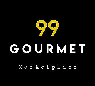 Marketplace de alimentos artesanais: confeitaria, rotisseria, padaria, refeições e mercado em geral | 99 Gourmet