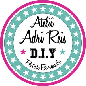 Ateliê Adri Reis - Patch Bordado