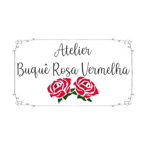 Atelier Buquê Rosa Vermelha