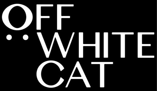 Off White Cat