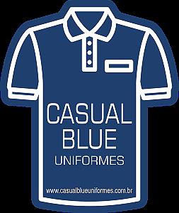 Casual Blue Uniformes