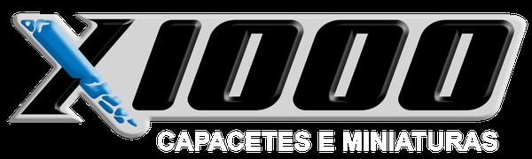 X1000 Capacetes e Miniaturas