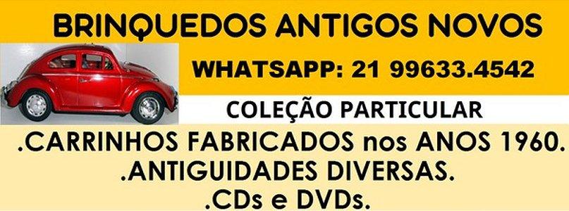BRINQUEDOS ANTIGOS NOVOS-ANTIGUIDADES-CDs e DVDs
