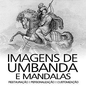 Imagens de Umbanda e Mandalas