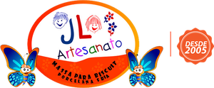 JL Artesanato - Massa Para Biscuit