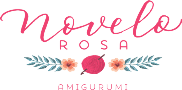 Novelo Rosa Amigurumi
