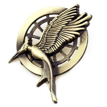 Broche Jogos Vorazes - Tordo Em Chamas com alvo - Hunger Games