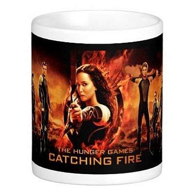 Caneca Jogos Vorazes - Hunger Games Preto