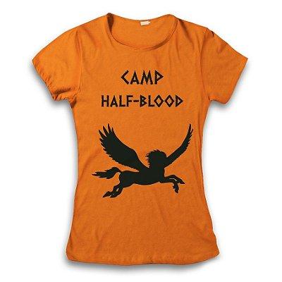 Camiseta Percy Jackson - Acampamento Meio Sangue - Pegasus 2