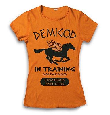 Camiseta Percy Jackson - Acampamento Meio Sangue - Demigod 3
