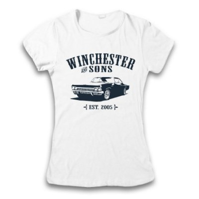 Camiseta Supernatural - Winchester Sons
