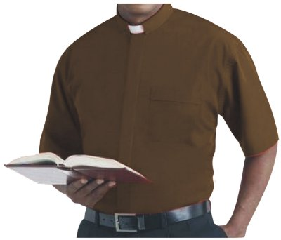 Camisa Clerical MC GD 0009