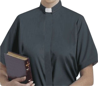 Camisa Clerical Feminina MC GD0001