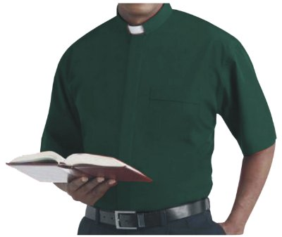 Camisa Clerical MC GD 0006