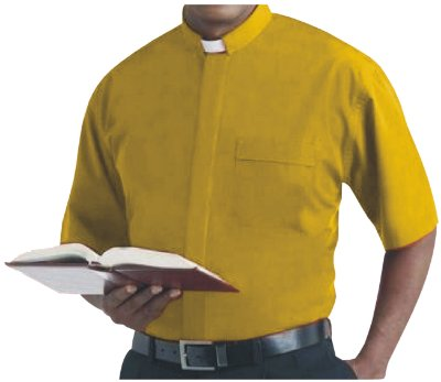 Camisa Clerical MC GD 0007