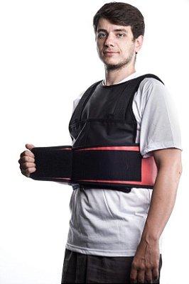 Colete de peso com carga ajustável até 13kg